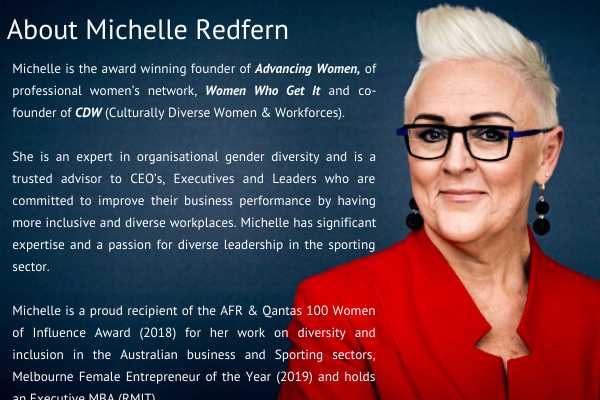 Biography of Michelle Redfern