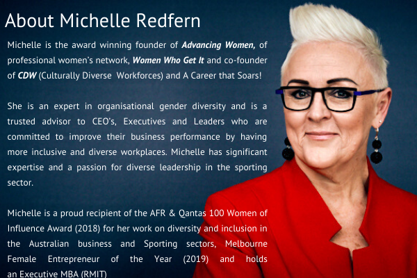 Michelle Redfern Advancing Women