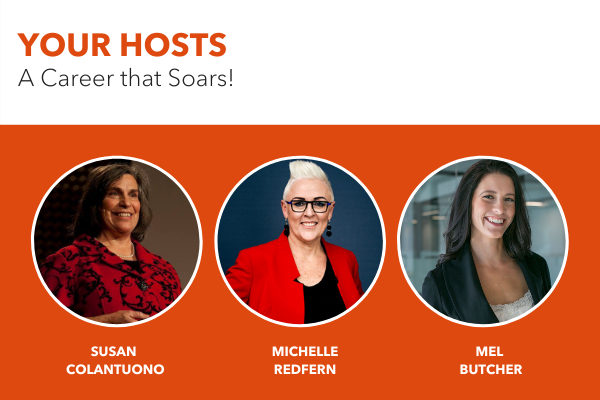 Your hosts at A Career that Soars!